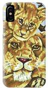 Lioness And Son IPhone Case