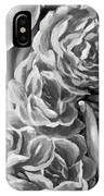 Lips Of Love Black And White IPhone Case