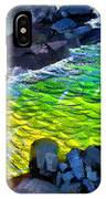 Liquid Abstract Eleven IPhone Case