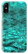 Liquid Teal IPhone Case
