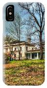 Liriodendron Mansion IPhone Case