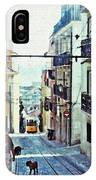 Lisboa Tram Route IPhone Case