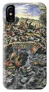 Lisbon Earthquake, 1755 IPhone Case