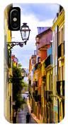 Lisbon Hills IPhone Case