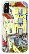 Lisbon Home Painting IPhone Case