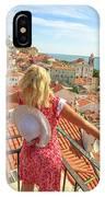 Lisbon Tourist Viewpoint IPhone Case