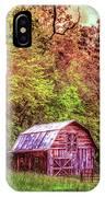 Little Barn In The Smokies IPhone Case