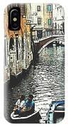 Little Boat In Venice IPhone Case