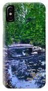 Little Bridge - Japanese Garden IPhone Case