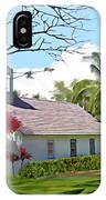 Little Church At Puako Big Island IPhone Case