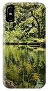 Little Cypress Creek IPhone Case