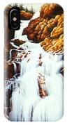 Little Firehole Falls IPhone Case