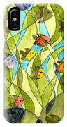 Little Fish Big Pond IPhone Case