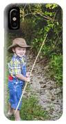 Little Fisherman IPhone Case