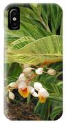 Little Flower In The Leaves II IPhone Case