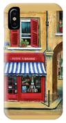 Little French Book Store IPhone Case