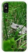 Little Frog Big Voice IPhone X Case