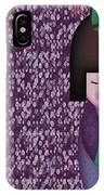 Little Geisha Purple IPhone Case