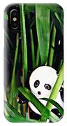 Little Glass Pandas 59 IPhone Case