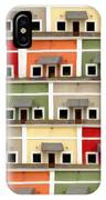 Little Houses IPhone Case