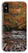 Little Pigeon River In Autumn IPhone Case