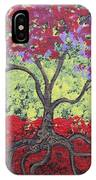 Little Red Tree IPhone Case