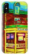 Little Shop On The Corner IPhone Case