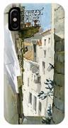 Little Street In Dubrovnik IPhone Case