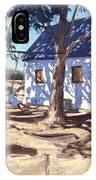 Little White House Karoo South Africa IPhone Case