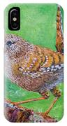 Little Wren IPhone Case