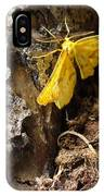 Little Yellow Moth IPhone Case