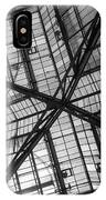 Liverpool Street Station Glass Ceiling Abstract IPhone Case