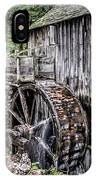 Cable Mill Gristmill - Great Smoky Mountains National Park IPhone Case