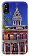 Livingston County Courthouse 1 IPhone Case