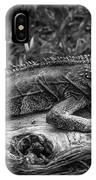Lizard-bw IPhone X Case