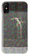 Lizard On A Screen Porch IPhone Case