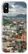 Ljubljana Slovenia With Karawanks, Kamnik Savinja, Limestone Alp IPhone Case
