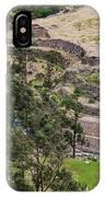 llactapata Site and Urubamba River IPhone Case