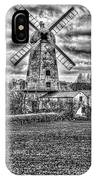 Llancayo Mill Usk 4 Mono IPhone Case