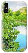 Llano River Scenic IPhone Case