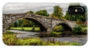 Llanrwst Bridge Panorama IPhone Case