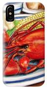 Lobster Dinner IPhone Case