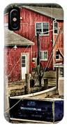 Lobster Market In Boothbay Harbor IPhone Case