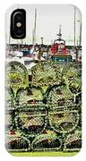 Lobster Pots Kilmore Quay, Wexford, Ireland Poster Effect 1b IPhone Case