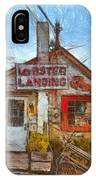 Lobster Shack Pencil IPhone Case