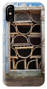 Lobster Trap Storage-1 IPhone Case