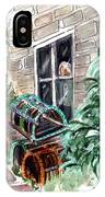 Lobster Traps In Runswick Bay IPhone Case