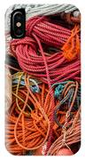 Lobstering Lines IPhone Case