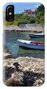 Local Boats In Harbour IPhone Case