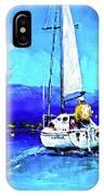 Loch Lomond Sail IPhone Case
